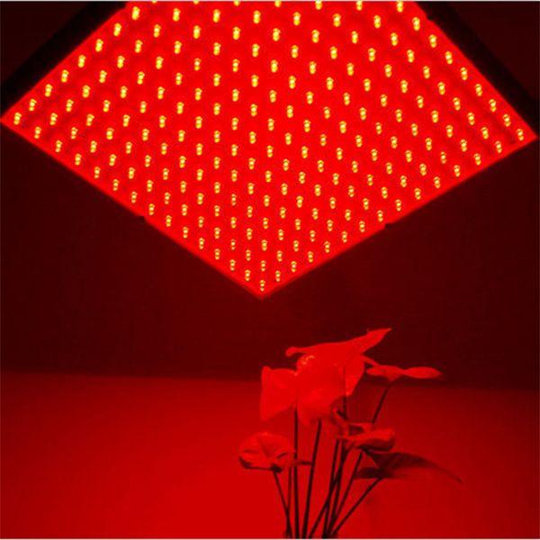 225 La De Floraison Toute Rouge Lampe Plante Led Lumière Smd D'intérieur 14w Élèvent N8mnw0