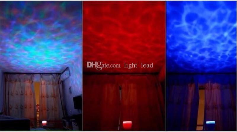 Sea Wave Projektor Led Nachtlicht Aurora Master Musik Lautsprecher Projekt Beleuchtung Lampe Dekoration Projektor Led-leuchten