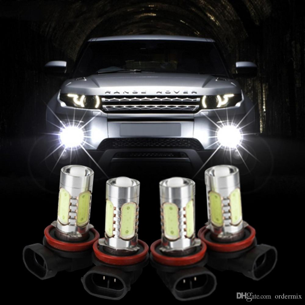 H11 7.5W High Power LED Bulb Car Auto Light Source Projector DRL Driving Fog Headlight Lamp Xenon White DC12V car-styling