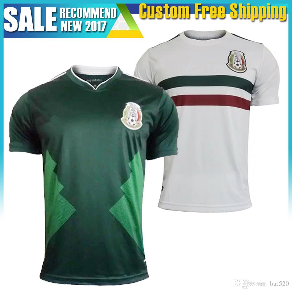 2017 Mexico 17 18 Jersey Copa America at Home CHICHARITO Mexico Away G. Dos  Santos T 2018 Mexico MARQUEZ Shirts in Stock 17 18 Soccer Jerseys 17 18  Soccer ...