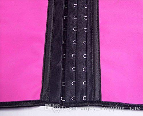 corset waist trainer slimming body shaper waist trimmer 4 steel bone latex vest cincher tummy trimmer corset Waist Training Shapers