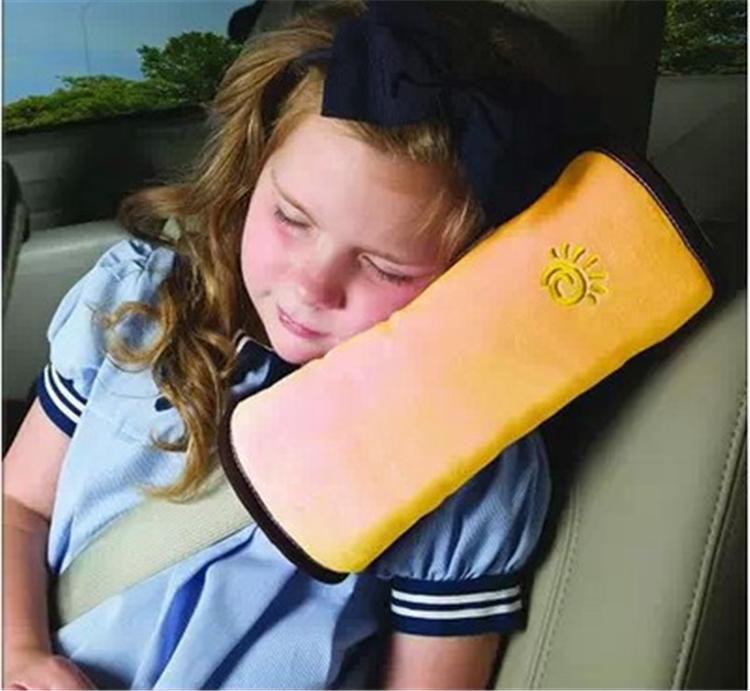 Großhandels-Baby-Selbstkissen-Auto schützen Schulter-Auflagekindersitzkissen Kissenbabykissen schützen Schulter-Auflage für Seat A0688