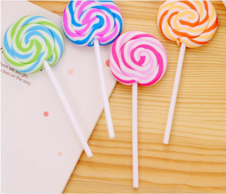 School Supplies Cartoon Erasers Candy Funny Rubber Eraser Office and Study Kids Gifts Cute Stationery Novelty Lollipop Erasers