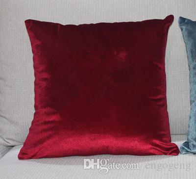 Klasik marka desen C yastık örtüsü olmadan 45x45 cm yastık sahte Taklidi lüks moda tasarım logo yastık kılıfı