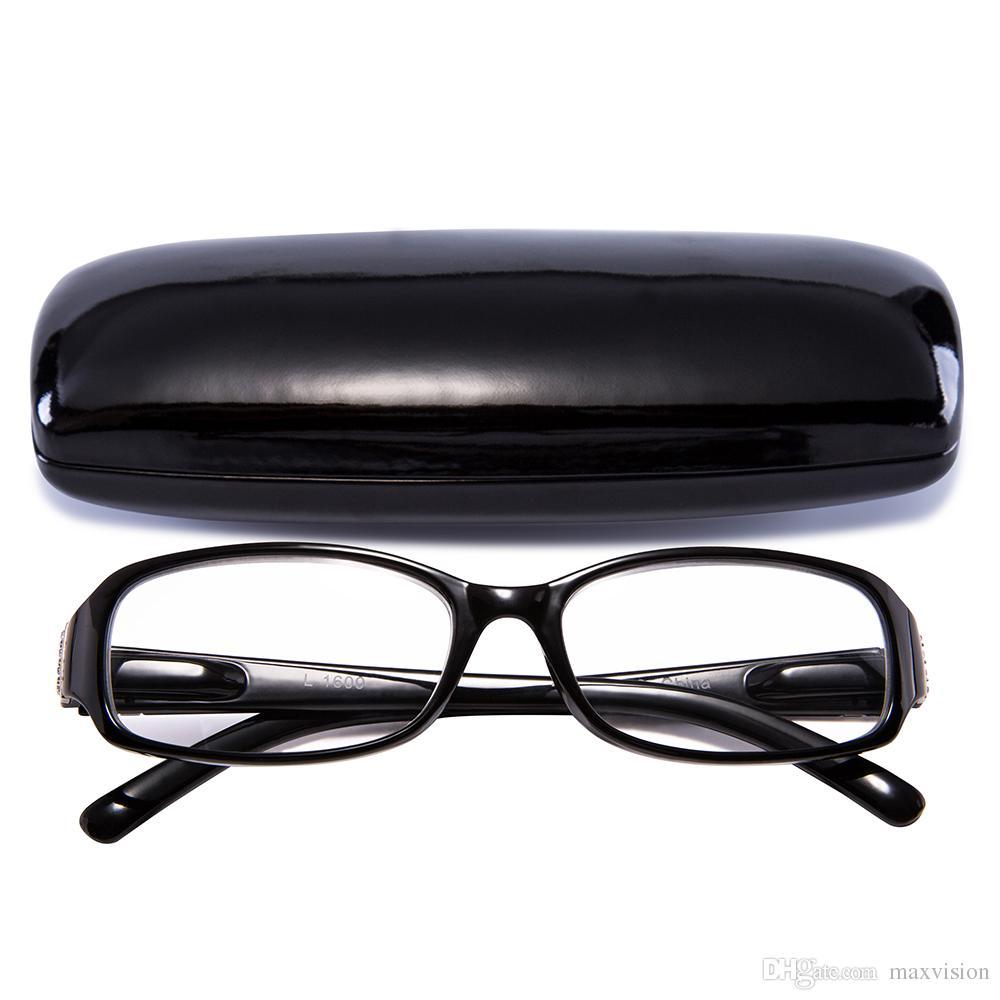 655e0e01b1ab Readers Bright Stylish Design Clear Women Reading Glasses Classical ...