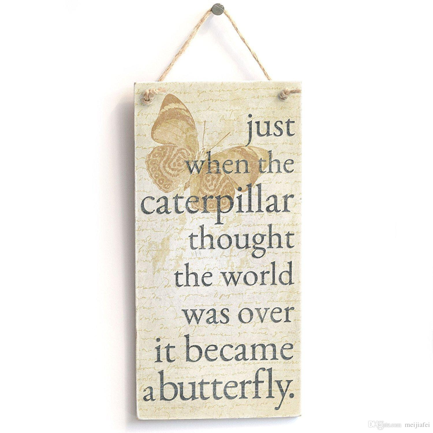 Just when the caterpillar thought the world was over gifts #2