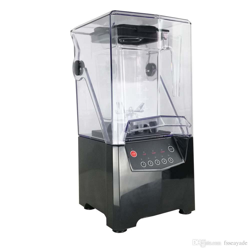 2019 Quiet Ice Blender Quiet Frozen Smoothie Blender