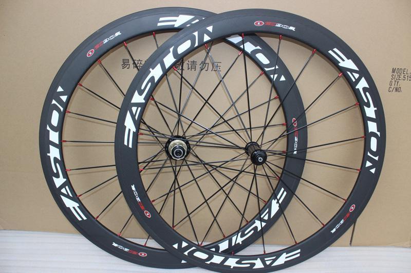 Novatec A271 hub ile 2017 ucuz Easton EC90SL Karbon Tekerlek mat bisiklet tekerlekleri 50mm kattığı yol bisiklet bisiklet tekerlek seti 50mm