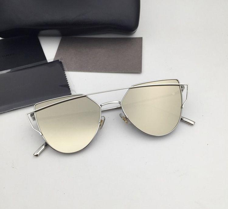 5698e2f92a4 Wholesale- Korea Gentle Vintage Sunglasses Lunette De Soleil Femme ...