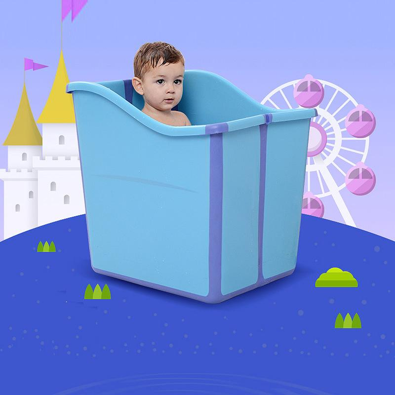 Oversize Folding Child Bath Tub Baby Tub Bath Barrel Child Baby ...