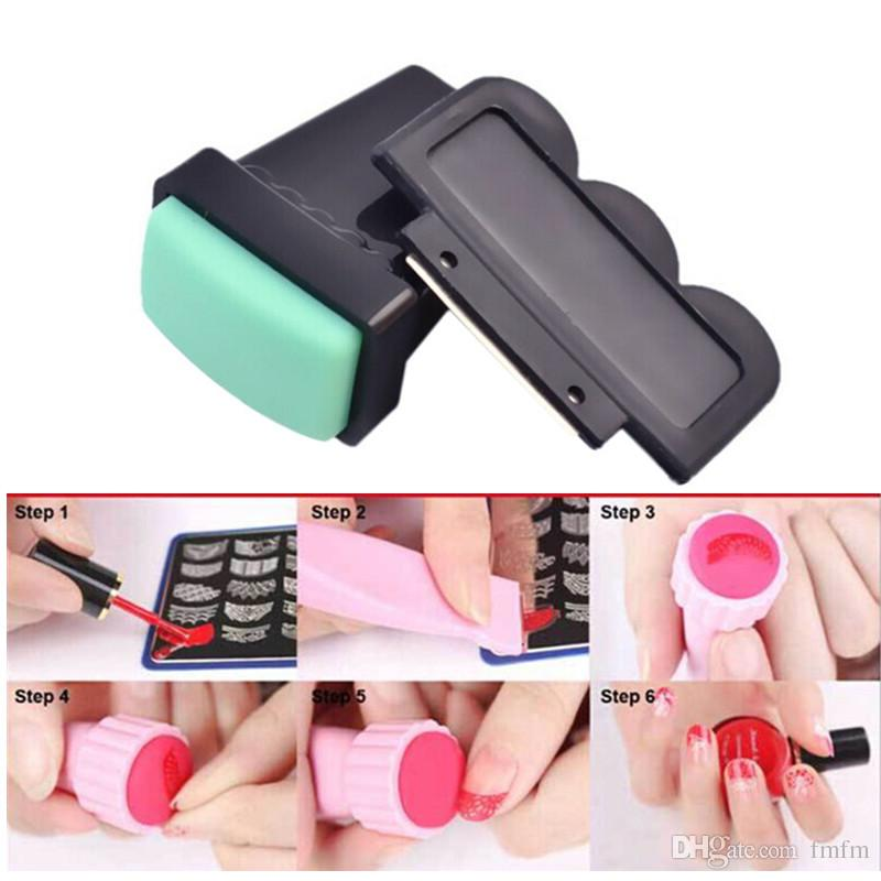 Nail polish nail art supplies coloured drawing or pattern printing nail polish nail art supplies coloured drawing or pattern printing tools imported double seal scraper black and green head covered 2 times toe nails art prinsesfo Gallery