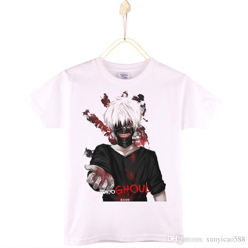 2019 2017 Hot Sale Tokyo Ghoul Print Kids Clothes Boys T Shirt 100