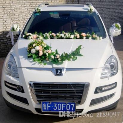 Grosshandel Hochwertige Hochzeit Auto Dekoration Kit Hochzeit Auto