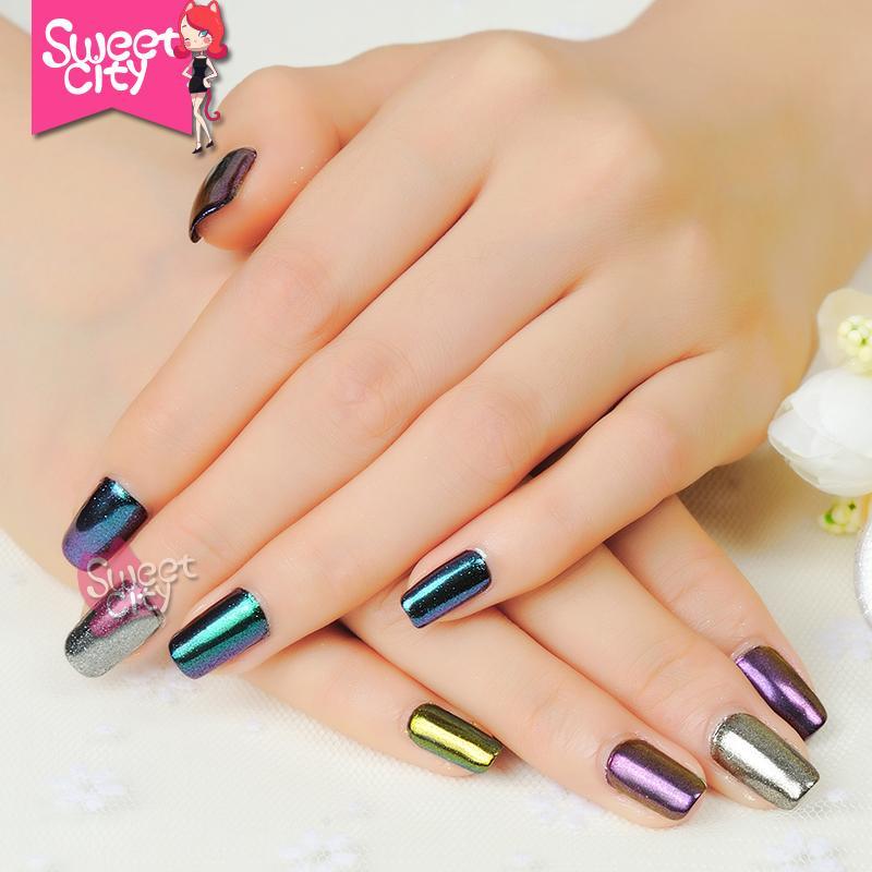 Compre Wholesale Nail Glitter Diy Shinning Cromo Espejo Polvo Para ...