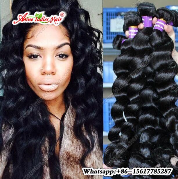 Brazilian Hair Bundles Loose Wave Weave Human Hair Extensions Short