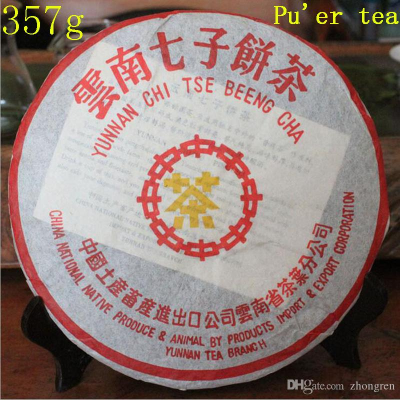 Venda Pu é chá maduro, 357 g velho velho chá de puer, vermelho opaco, mel doce, puerh chá, frete grátis de árvore velha.