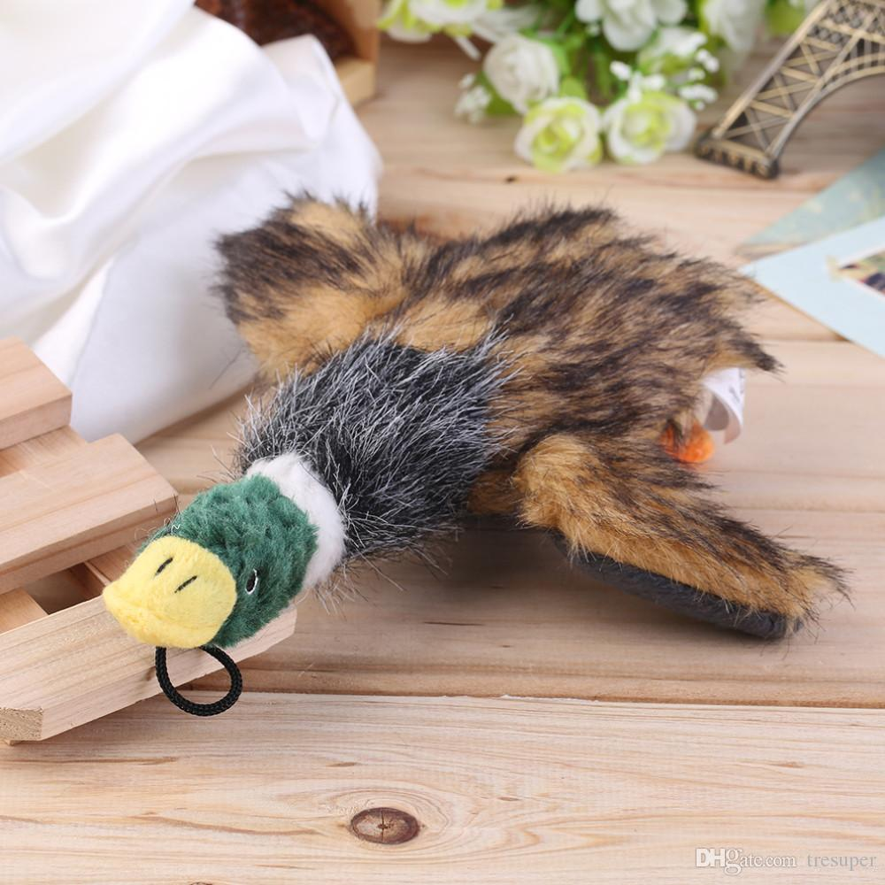 URBAN PAWS Dog Toys Squeaking Duck Dog Toy Plush Puppy duck for Dogs pet chew squeaker squeaky toy Cachorro Mascotas Toy