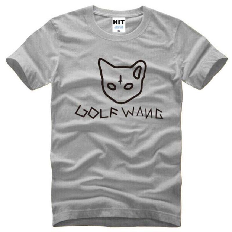 Odd Future GOLF WANG OFWGKTA Camisetas Hombres Algodón de manga corta de golf Wang Tyler Camiseta de hombre The Creator Earl Drawing Tops Tees