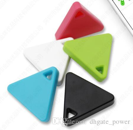 Mini Dreieck Drahtlose Smart Bluetooth Anti Verlorene Alarm Tracker GPS Locator Für Kinder Haustiere Tasche Brieftasche Keychain Pedent