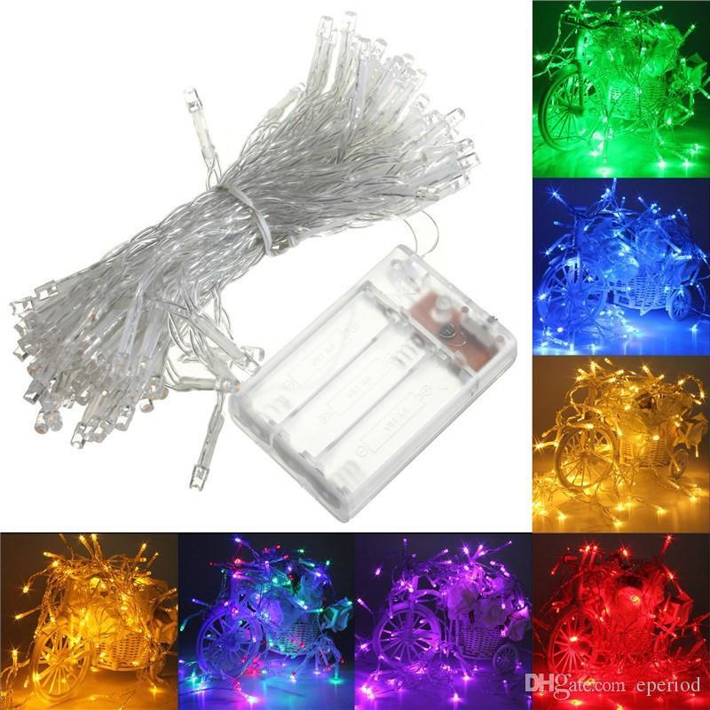 LED String Light 3XAA Battery Operated Portable Light 2M/3M/4M/5M ...