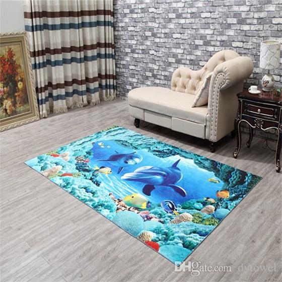 1pc Long Floor Mat 3d Pattern Water-absorbing Non-slip Carpet Rugs Bedroom Mats For Kitchen Living Room Bathroom Bathroom Products Bath Mats