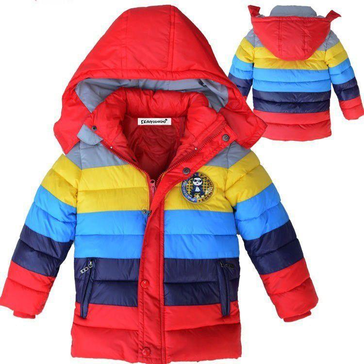 689928ac0 Kids Coat 2017 New Spring Winter Boys Jacket for Boys Children ...