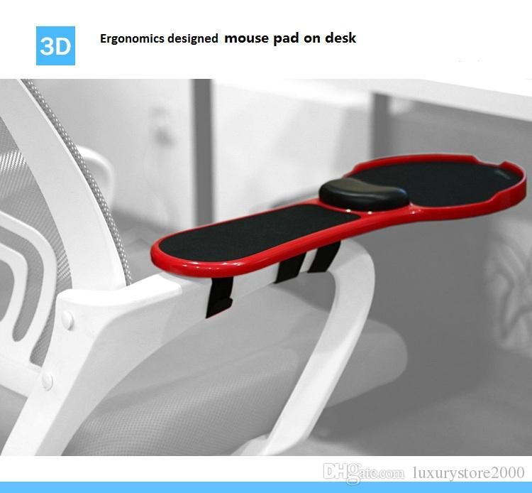 Home office 180degree Ergonomics designed adjustment wrist rest Mouse Hand Bracket Hand Drag Wrist stand for your long time working