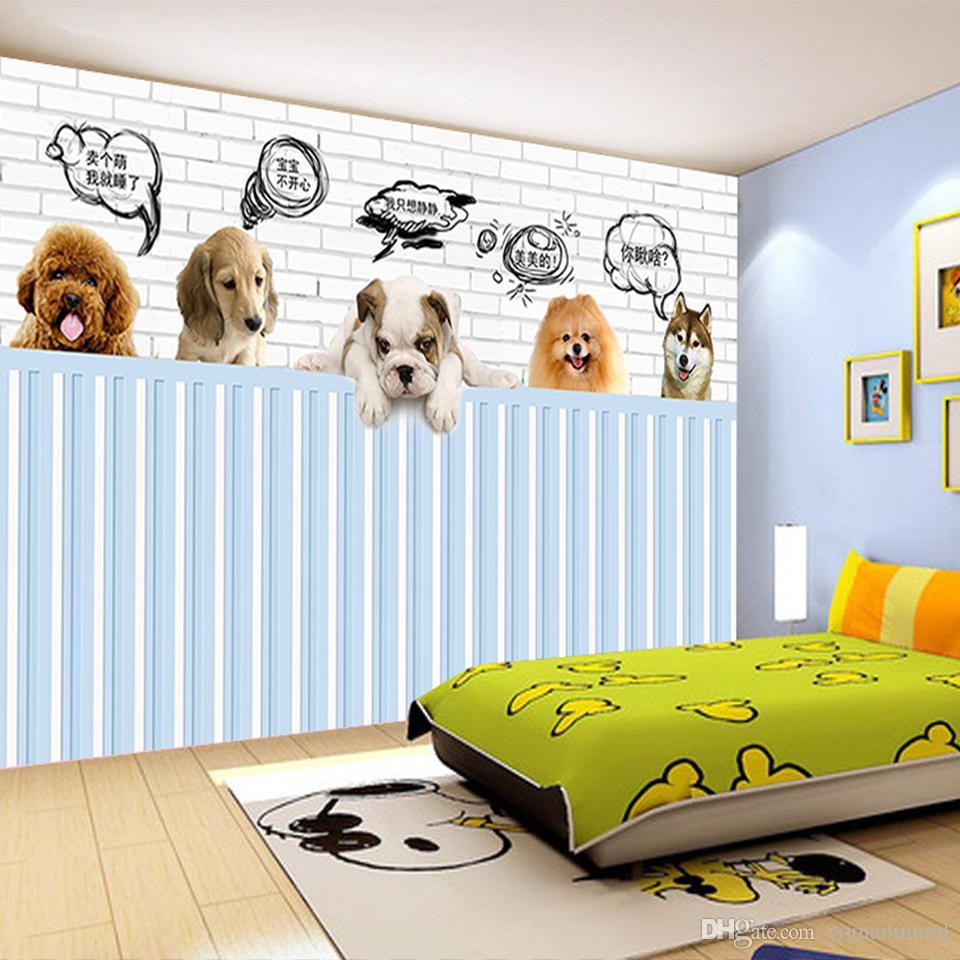 Custom 3d Photo Wallpaper Mural Bed Room Hd Wallpaper Cute