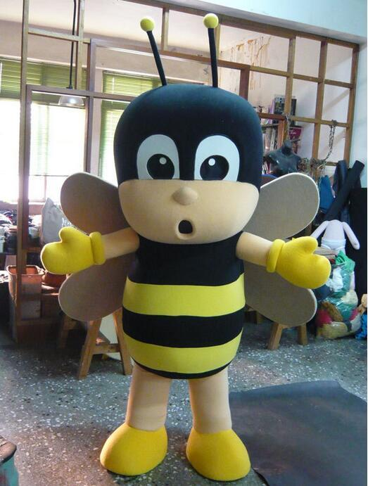 Oisk Little Bee Mascot Costume Classic Cartoon Character Fancy Dress Adult Size For Kids Brithday Party Bee Mascot Costumes Custom Costume Maker From ... & Oisk Little Bee Mascot Costume Classic Cartoon Character Fancy Dress ...
