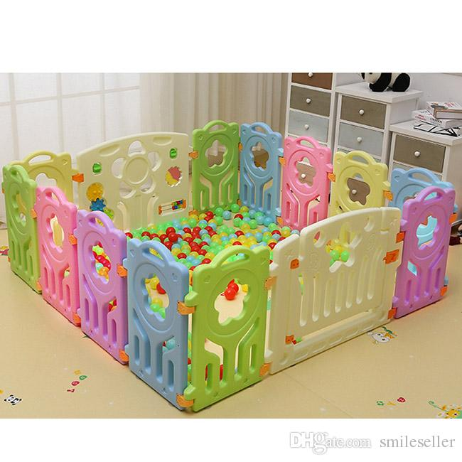 Hot Selling Baby Play Yard Toddler Game Fence Sucker Design Safety ...
