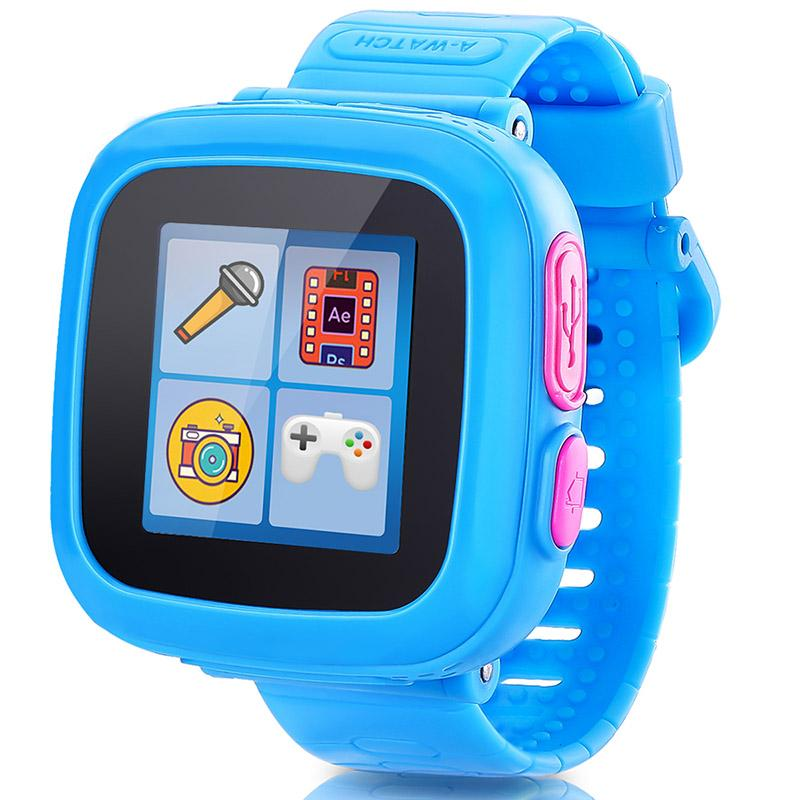 Wholesale touch screen game smart watch for kids children smartwatch with alarm clock health for Watches for kids