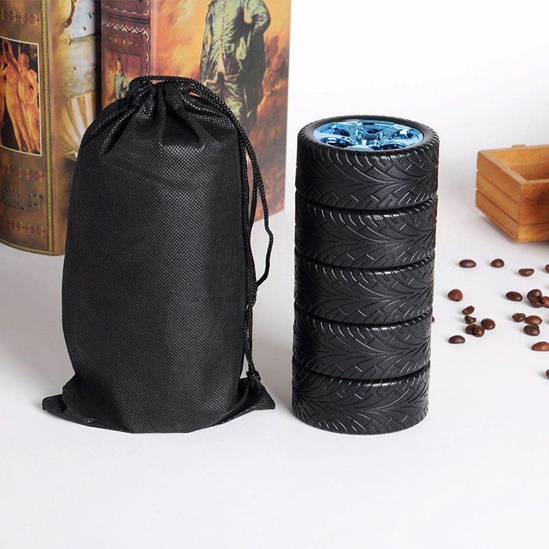 300ML 타이어 자동차 머그잔 물병 스테인레스 스틸 크리 에이 티브 커피 티 컵 여행 야외 맞춤 머그컵 물병 무료 DHL WX - C33