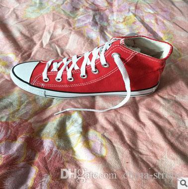 size 35-45 new 2017 drop shipping women men unisex men sneakers women sneakers for women and canvas shoes