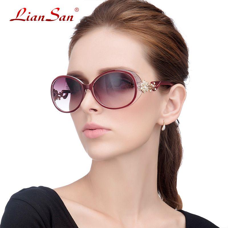 0baf7ac975 Wholesale Lian San 2016 New Fashion Women Sunglasses Luxury Polarized  Oversize Frame Sunglasses For Female Brand DesignerGD103P Mens Eyeglasses  Sport ...
