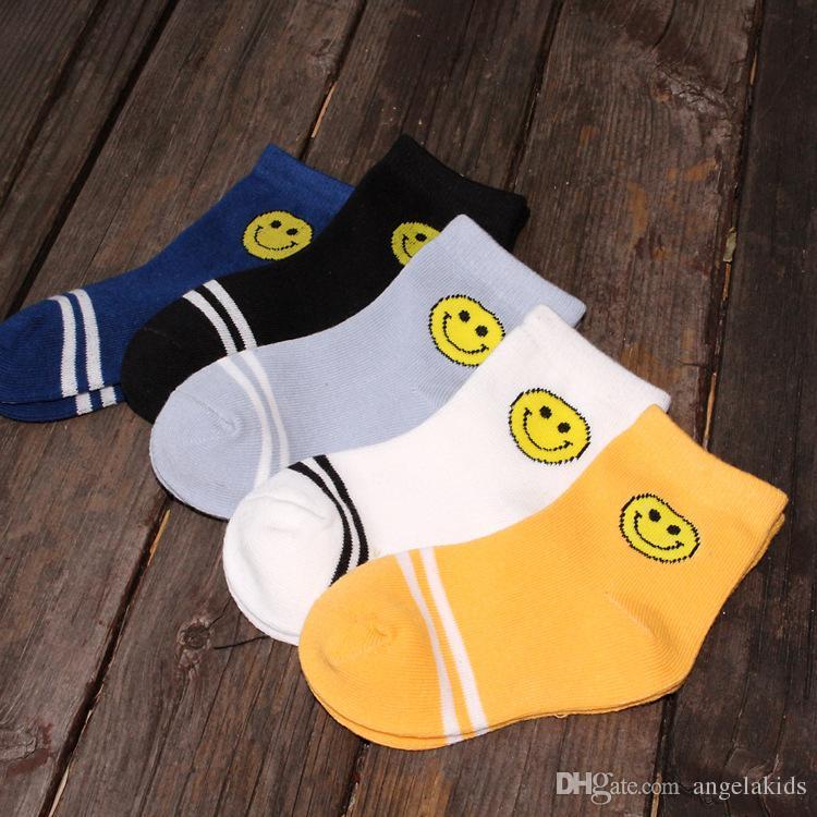 boys socks kids socks Children Socks Classic Cotton Stripes Socks Children cartoon ankle socks 1-12Y boy
