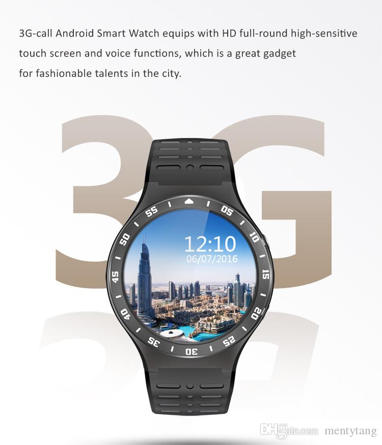 c7c8c293f28 ZGPAX S99A SmartWatch MTK6580 Android 5.1 OS Resolution 360 360 Support  Nano Sim Card Wifi GPS Heart Rate Monitor Smart Watches Reviews Smartwatch  For Ios ...
