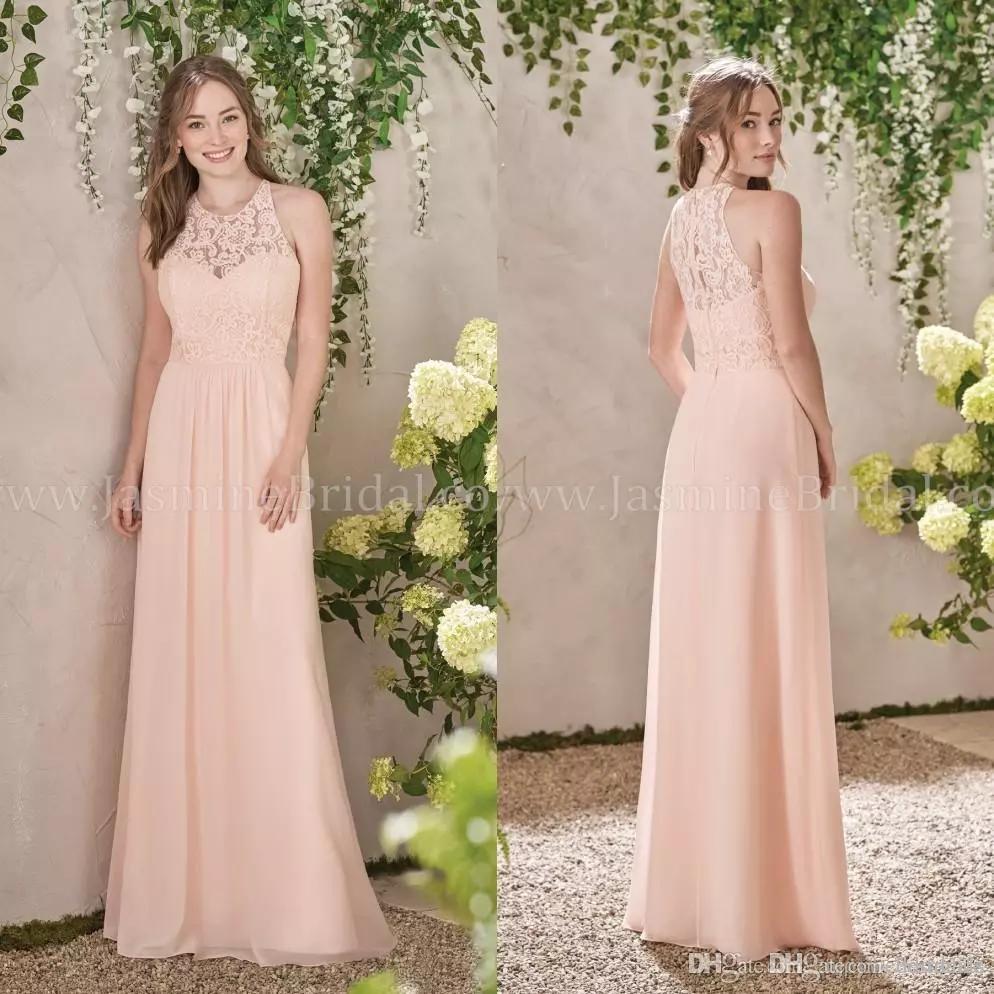 Vintage Peach Bridesmaid Dresses