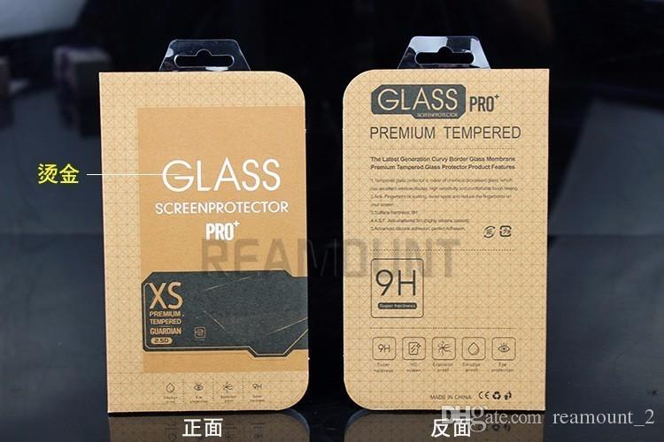 Wholesale 0.3mm Tempered Glass Film for iPhone 7 5s 9H Screen Protector for iPhone 7 with Clean Tools