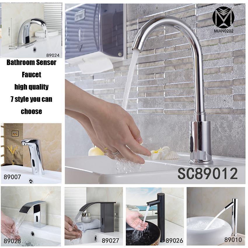 2018 Bathroom Sensor Faucet Hot And Cold Mixer Automatic Hands Touch Free Sensor  Faucet Bathroom Sink Tap Mixer Faucet From Lilingainiqi, $186.34 | Dhgate.
