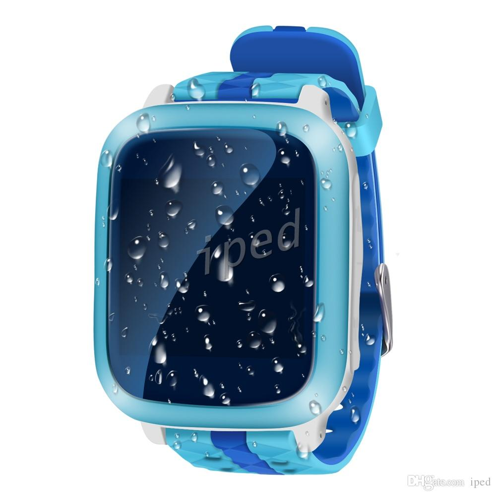 DS18 Smart Phone Guarda Kid Orologio da polso Anti-Lost GPS WiFi Tracker Orologio bambini SOS SIM Card Smartwatch iOS Android Bambini DHL libero 5