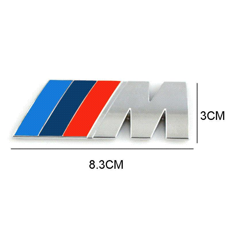 discount car styling car decoration emblem badge m logo metal 3d car sticker for bmw m3 m5 x3 x5. Black Bedroom Furniture Sets. Home Design Ideas