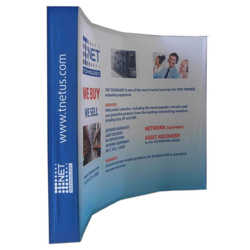 Exhibition Stand Pop Up : 2019 10ft curved trade show tension fabric curved pop up stand pop