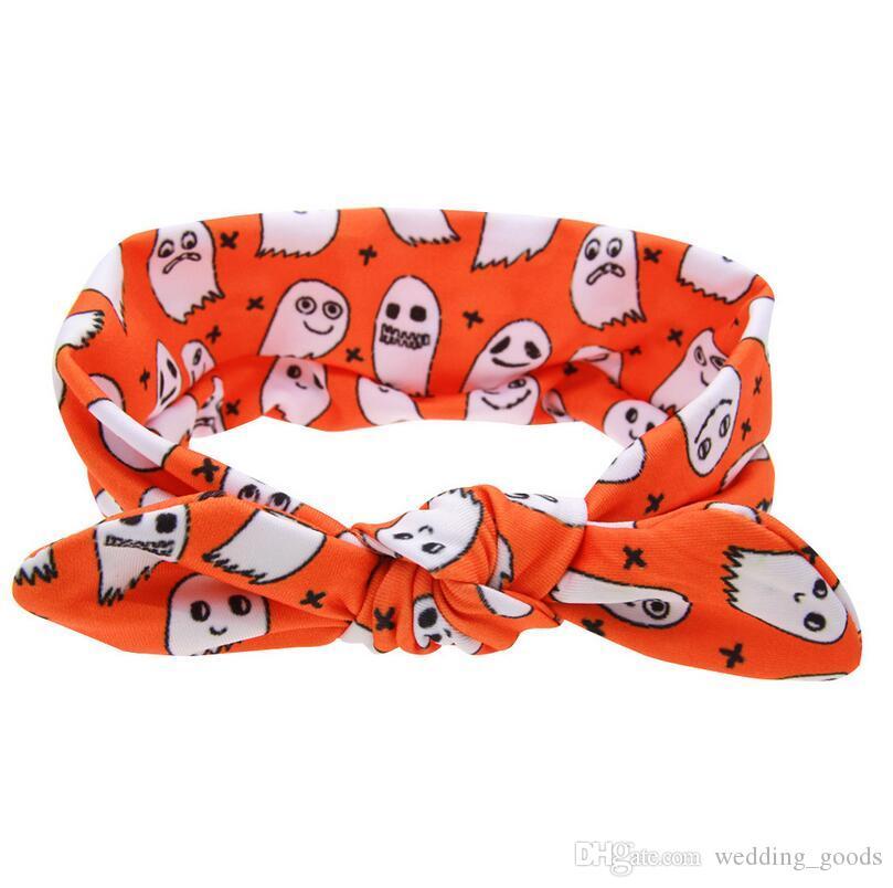 Бесплатная доставка Hotspring Хэллоуин карнавал одеваются дети узел кроличьи уши Рождество Baby baby оголовье TG103 mix порядка 30 штук много