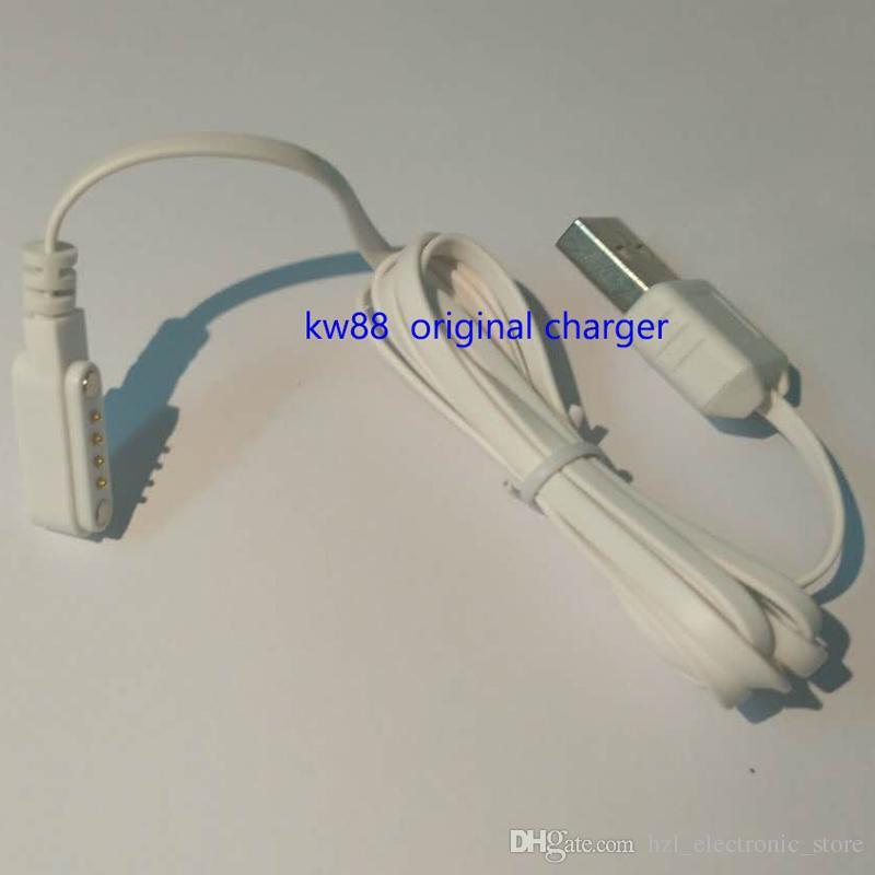 الأصلي kingwear الساعات الذكية المغناطيس شاحن كابل شاحن usb لشحن gt88 gt68 kw08 kw18 kw88 smartwatch