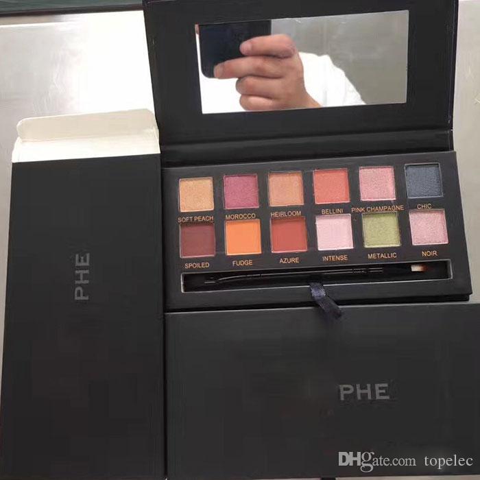 Горячий новейший макияж Eye Shadow 12 цветная палитра для век для DHL Бесплатная доставка DHGate VIP продавец