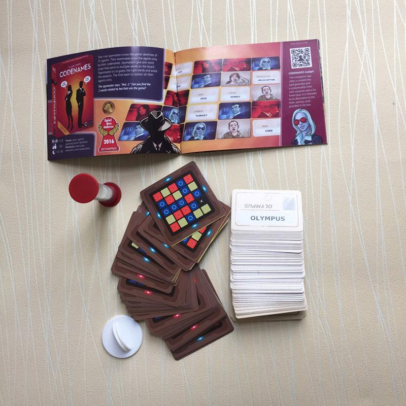Stock Codenames Party Game Funny Games For Adults Social Word Game A Simple Premise And Challenging Game Play Free DHL
