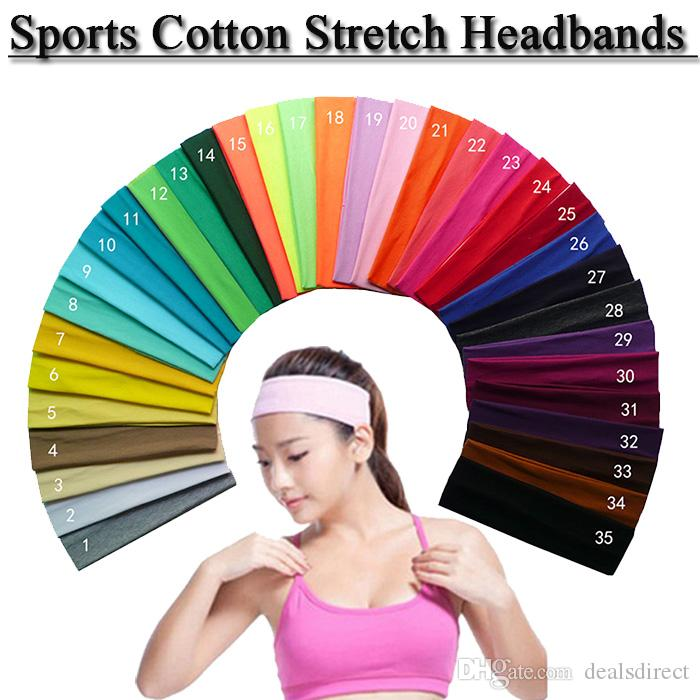 Cotton Headbands Stretch You PICK Headband Sports Wholesale Bulk Discounts  Online with  1.11 Piece on Dealsdirect s Store  f1741ef012c