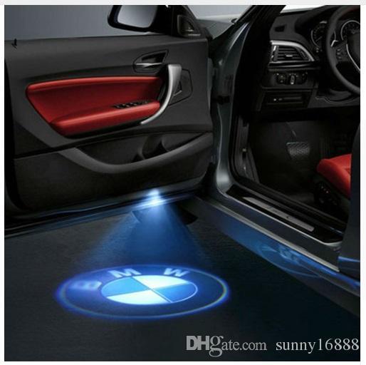 2019 LED Car Door Welcome Light Laser Shadow Led Lighting Projector For BMW F30 E60 E61 E63 E64 ...
