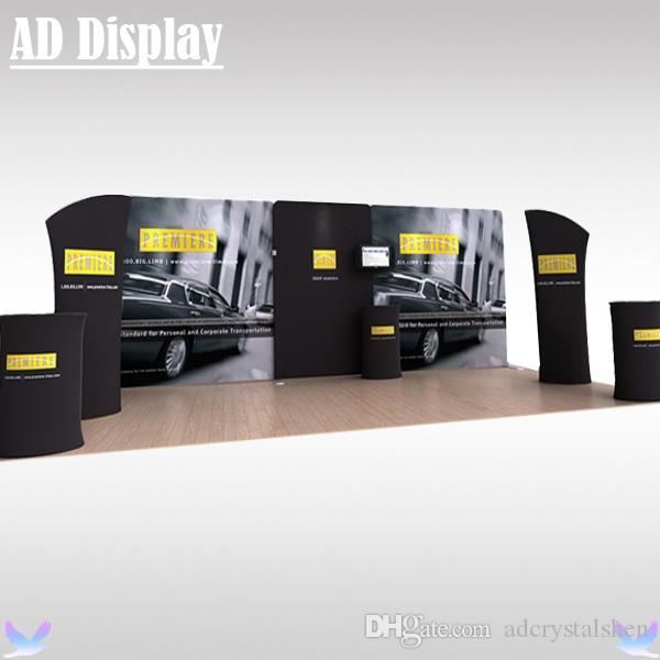 Exhibition Stand Banner : M m exhibition booth high quality stretch fabric display