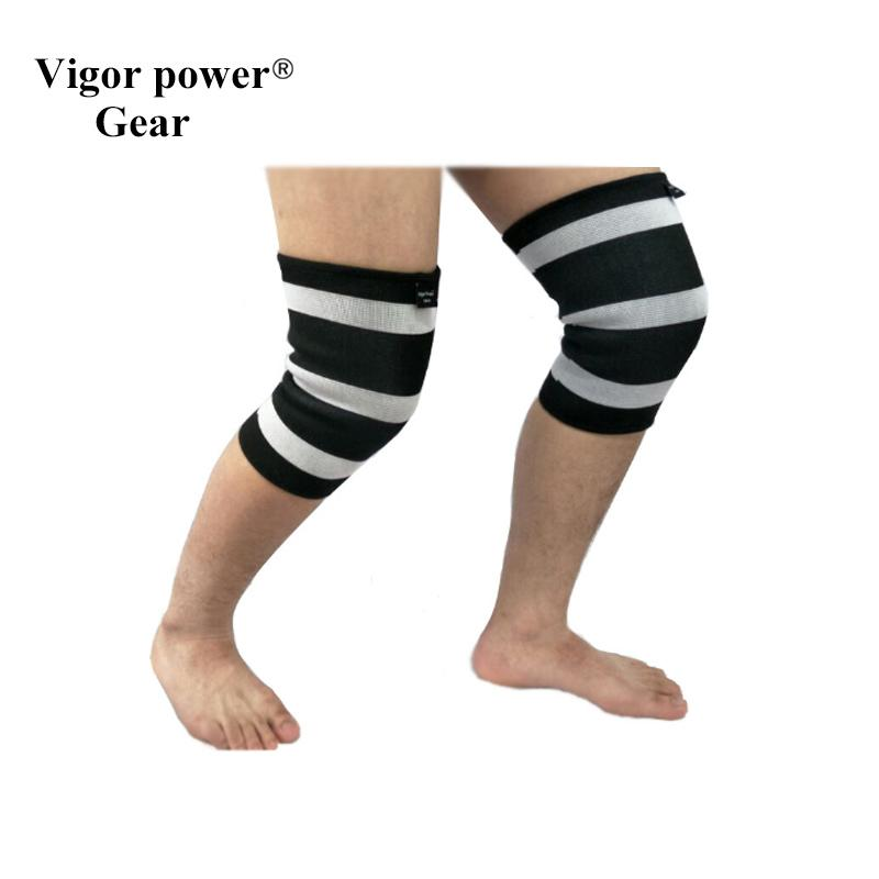7c89a8faff Wholesale- Vigor Power Gear Dual Ply Elbow Sleeves 5mm Knee Sleeves ...
